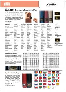 """1 x SAFE 1130 SIGNETTE Aufkleber selbstklebend Briefmarken """" Cept """" - Vorschau 2"""
