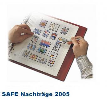 SAFE 1805 dual Nachträge - Nachtrag / Vordrucke Deutschland Jahresschmuckblätter - 2005
