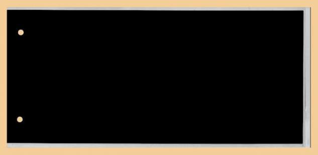 50 x KOBRA G5E Ersatztaschen Ergänzungsblätter glasklar + schwarzem Einsteckblatt 240 x 125 mm DIN C6 Extra Lang Für Briefe - FDC 'S Postkarten Ansichtskarten Banknoten Geldscheine - Vorschau 2