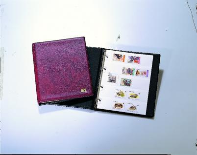 SAFE 540 Taschen-Einsteckbuch Ringbinder Weinrot DIN A5 mit 5 weissen Seiten