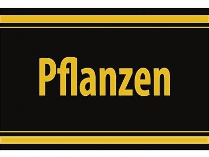 """1 x SAFE 1130 SIGNETTE Aufkleber selbstklebend """" Pflanzen """""""