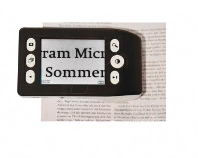 Lindner S66143 Digitale LED Lupe 5 6 7, 5 10 fache Vergrößerung + USB Kabel