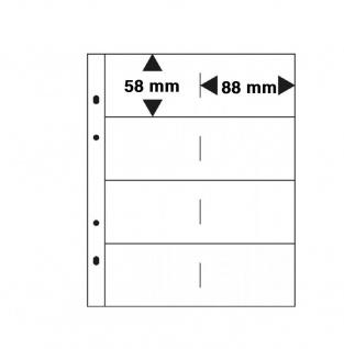 """SAFE 7581-R Weinrot-Rot Visitenkartenalbum """" Visit"""" Mappe Album mit 5 x 7564 Ergänzungsblättern + schwarzen Zwischenblättern für bis zu 80 Visitenkarten - Vorschau 4"""