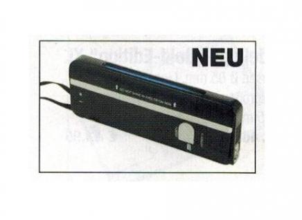 SAFE 1038 UVC Prüfgerät Tester Kurzwellenröhre 254 nm Für Briefmarken Münzen Banknoten Geldscheine