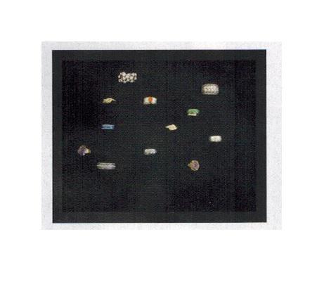 SAFE 5685 Black Edition Sammelvitrinen Vitrinen Setzkasten Für bis zu 48 Weissgold Gold Silber Platin Ringe - Schmuck Modeschmuck - Vorschau 2