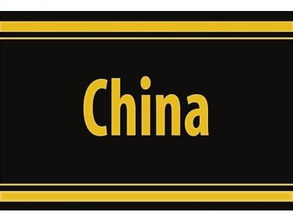 "1 x SAFE 1130 SIGNETTE Aufkleber selbstklebend "" China """