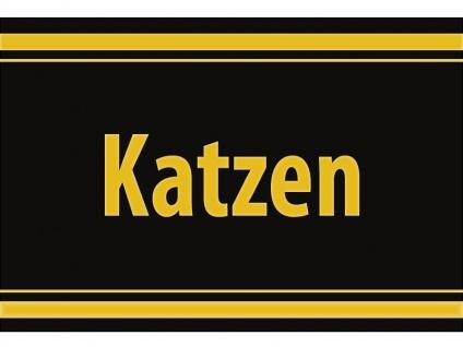 "1 x SAFE 1130 SIGNETTE Aufkleber selbstklebend "" Katzen """