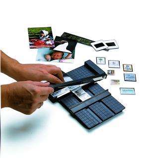 SAFE 966 tabs Klarsicht Klemmtaschen Schwarz Glasklar Für Briefmarken bis 66 mm Höhe - 7 er Pack - Vorschau 3
