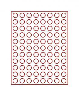 LINDNER 2910 Münzbox Münzboxen Rauchglas 88 x 21, 5 mm Für 5 EURO Cent / 10 Pfennige
