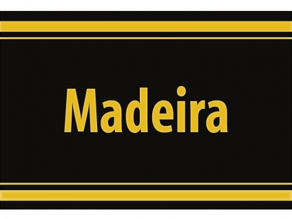 "1 x SAFE 1130 SIGNETTE Aufkleber selbstklebend "" Madeira """