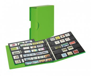 LINDNER S3542B-4 Spring - Grün Ringbinder PUBLICA M COLOR Multi Collect + Kassette & je 5 Blätter MU1315 & MU1316 Für Briefmarken & Blocks