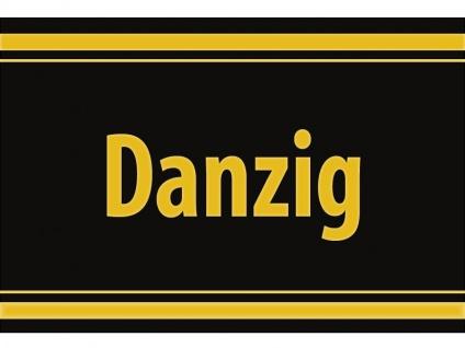 "1 x SAFE 1130 SIGNETTE Aufkleber selbstklebend "" Danzig """
