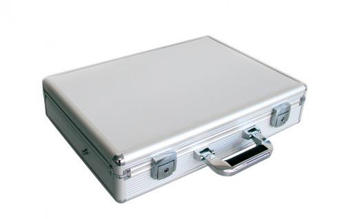 """SAFE 275 ALU Notebook - Netbook - Laptop Office Koffer """" Silver Star MAXI """" 18"""" - Vorschau 4"""