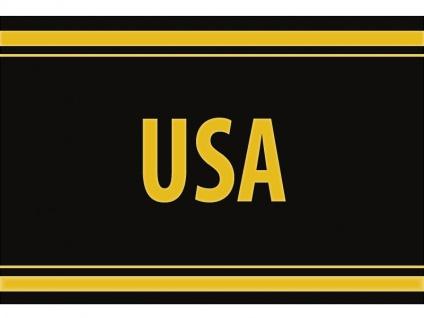 """1 x SAFE 1130 SIGNETTE Aufkleber selbstklebend """" USA """" Vereinigte Staaten von Amerika"""