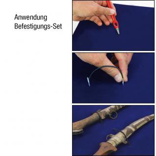 """SAFE 5777SP ALU Sammelvitrinen Setzkasten """" MAXI """" für Schmuck Uhren Ketten Anhänger Ohrringe Ringe Broschen Antiquitäten - Vorschau 3"""