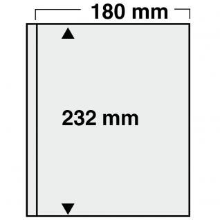 1x SAFE 879 Compact Ergänzungsblätter 180x232mm glasklar Jahresbücher Bundespost im Schuber ab 2001