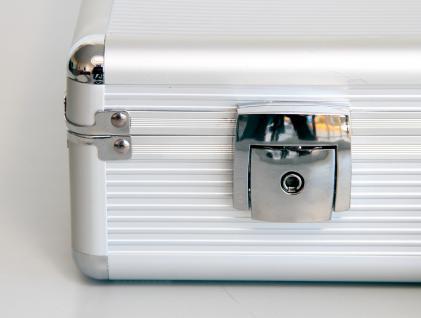 """SAFE 275 ALU Notebook - Netbook - Laptop Office Koffer """" Silver Star MAXI """" 18"""" - Vorschau 3"""