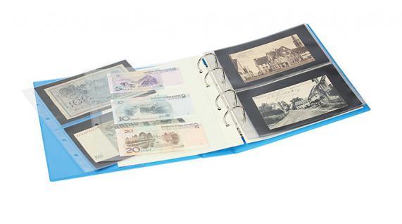 LINDNER S3540-5 Nautic MULTI COLLECT Ringbinder Album Ordner PUBLICA M COLOR (leer) Für Briefmarken Münzen Bankoten zum selbst befüllen - Vorschau 5