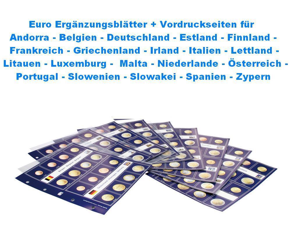 5x Safe 8563 Münzblätter Ergänzungshüllen Münzhüllen Für Münzen