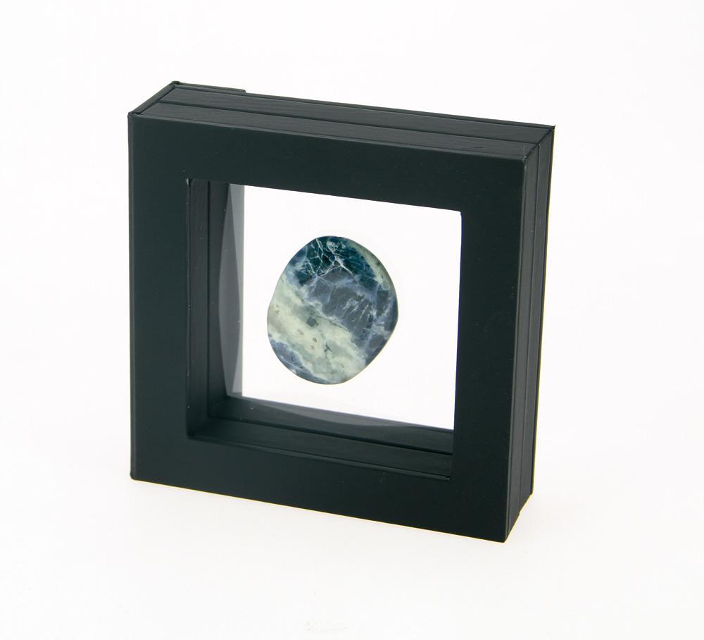safe 4503 schwebe rahmen fotorahmen bilderrahmen 3d schwarz au en 80x 80 mm innen 50 x 50x mm. Black Bedroom Furniture Sets. Home Design Ideas