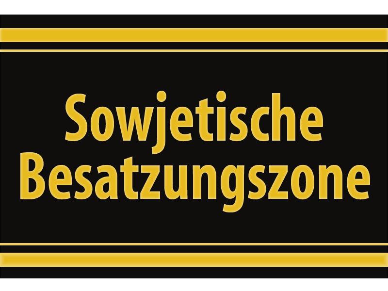 sowjetische besatzungszone