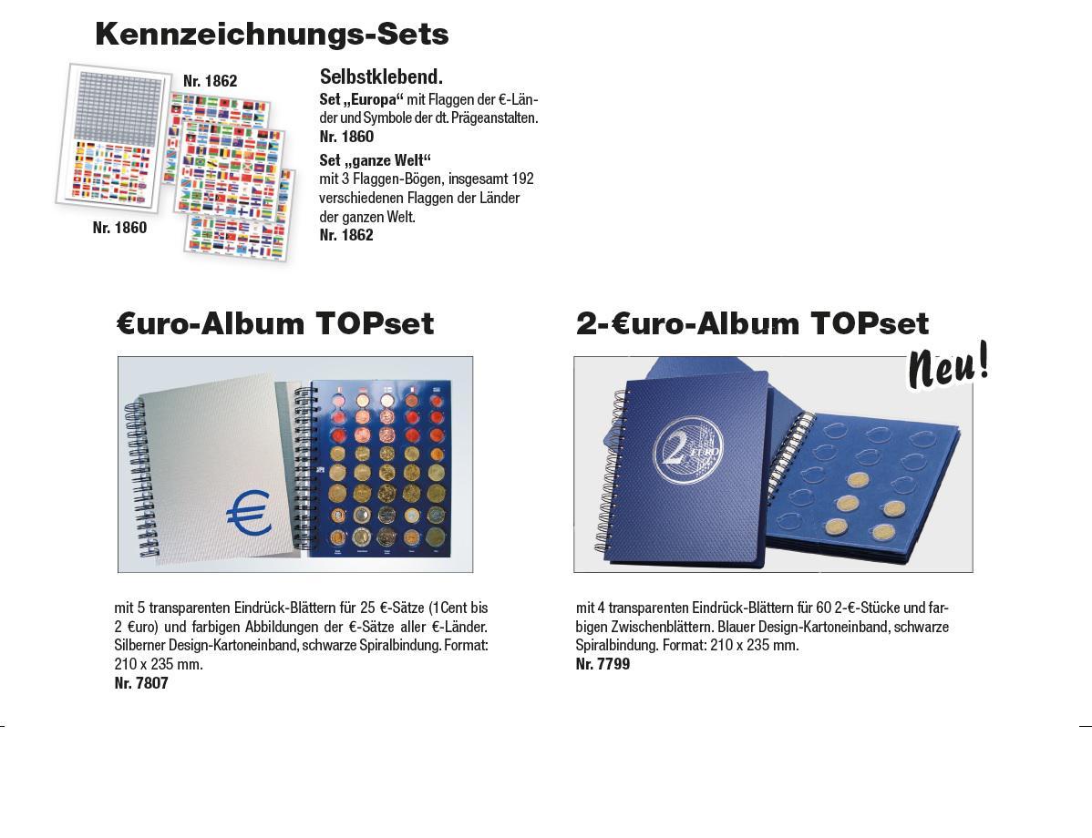 Safe 7803 Euro Münzalbum Topset Spiralbindung 20 Euro