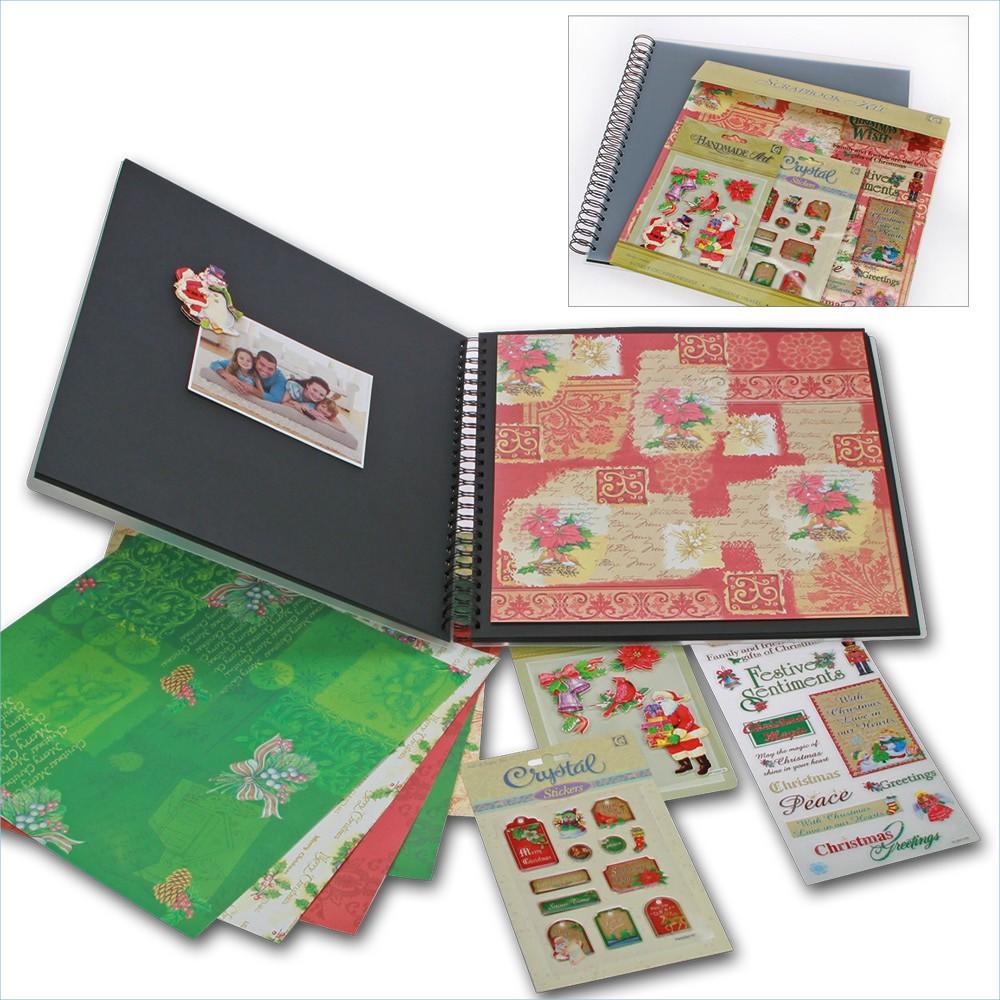 Safe 74373 Scrapbook Album Weihnachten Merry Christmas 20 Seiten