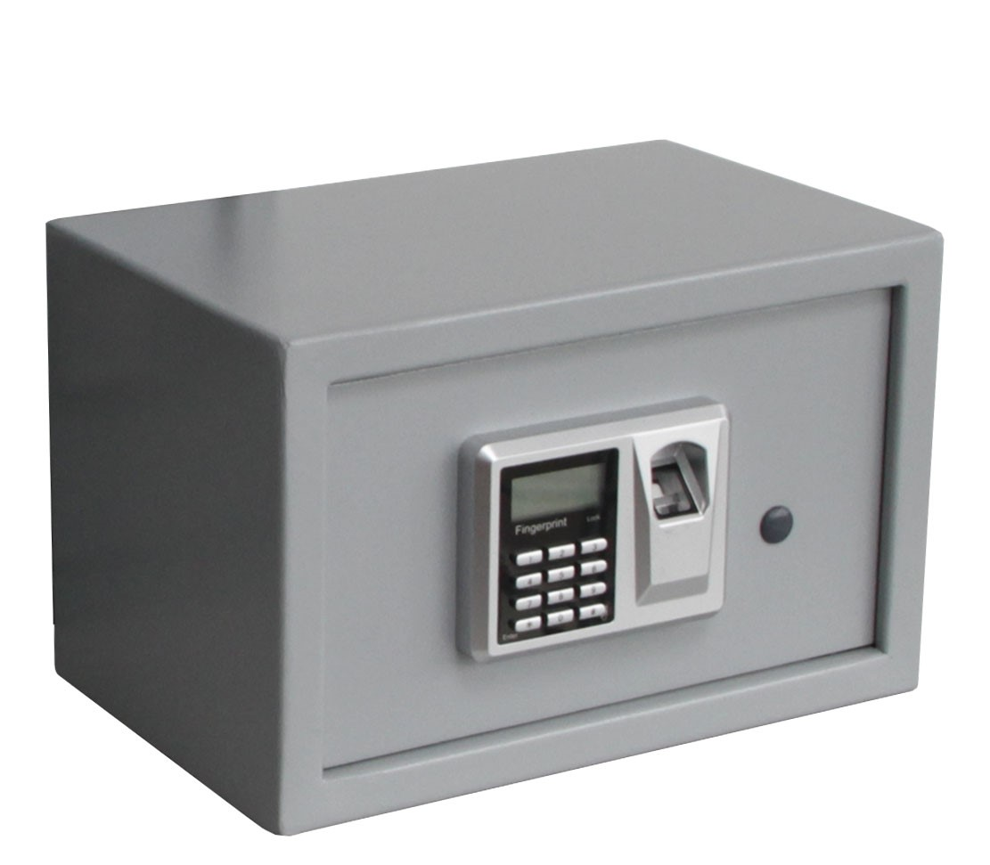 tragbare Pistolen-Schl/üsselbox Fingerabdruck-Tresor mit Pistolen-Box Safe f/ür Bargeld 275 x 190 x 50 mm