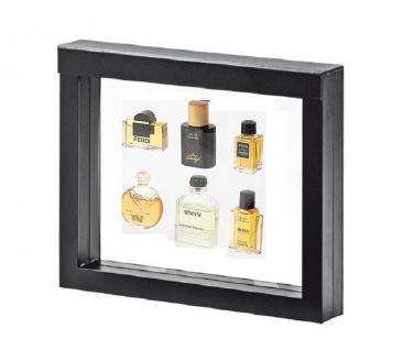 LINDNER 4831 NIMBUS 230 Sammelrahmen Schweberahmen 3D Für Parfum Mini Flacons