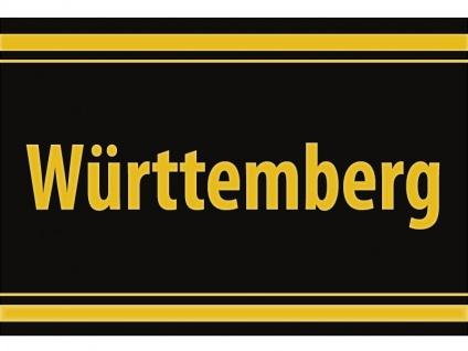 "1 x SAFE 1130 SIGNETTE Aufkleber selbstklebend "" Württemberg """