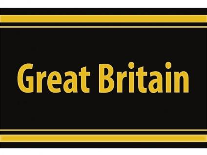 """1 x SAFE 1130 SIGNETTE Aufkleber selbstklebend England """" Great Britain """" Großbrittannien"""