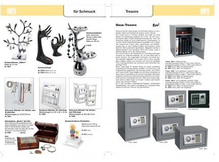 SAFE 5333 Solarbetriebene Drehbarer Deko Drehteller Display Ständer Präsentierteller 90 mm Weiss Für Schmuck - Uhren - Antiquitäten - Mineralien - Fossilien - Figuren - Modellbau - Vorschau 5
