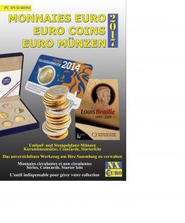 SAFE Numix Euro 2017 Münzen Software Katalog Sammlerverwaltung DVD CD-ROM 1999 - 2016 - Vorschau 3