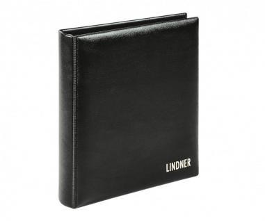 LINDNER 1106Y - S Münzalbum KARAT CLASSIC SCHWARZ Album Ringbinder (leer)