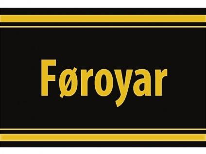 "1 x SAFE 1130 SIGNETTE Aufkleber selbstklebend Färöer Inseln "" Føroyar "" Færøerne"