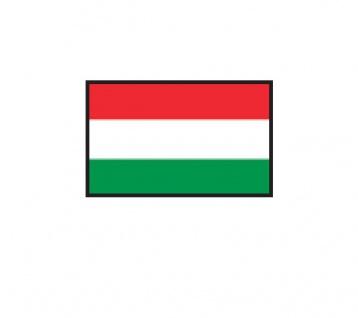 1 x SAFE 1175 SIGNETTE Flagge Ungarn - Mayar - Hungary Aufkleber Kennzeichnungshilfe - selbstklebend