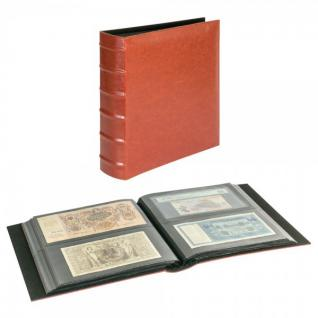 LINDNER 812XL Firmo L Universal Album Sammelalbum Rot Lang 245 x 132 mm Für 216 Briefe FDC Postkarten Ansichtskarten Banknoten Geldscheine