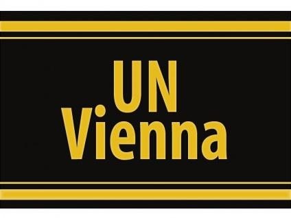 """1 x SAFE 1130 SIGNETTE Aufkleber selbstklebend """" UN-VIENNA """""""
