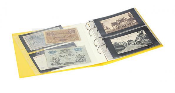 LINDNER S3540BN - 5 - Nautic Blau MULTI COLLECT Banknotenalbum PUBLICA M COLOR + 10 Blätter Mixed 2er & 3er Teilung - Vorschau 5