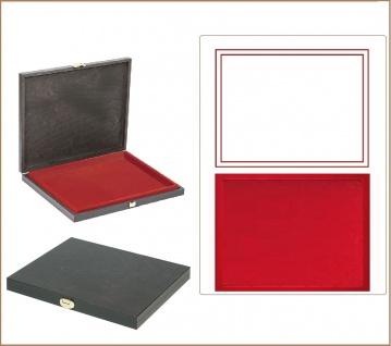 LINDNER S2491-2800E CARUS-1 Holz Sammelkassetten Hellrot 1x 210x270x18, 5mm