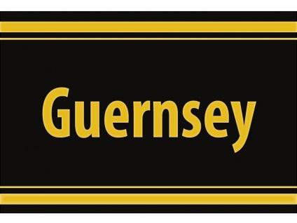 """1 x SAFE 1130 SIGNETTE Aufkleber selbstklebend Kanalinseln """" Guernsey """""""