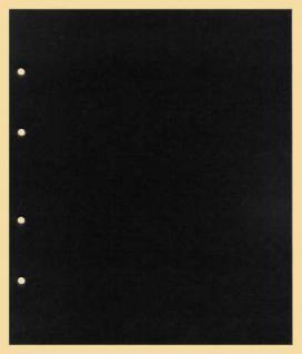 10 x KOBRA G28C Zwischenblätter ZWL Schwarzer Karton Für Ringbinder Album G22 G22B G24 G24B G28 G29 - Vorschau 1