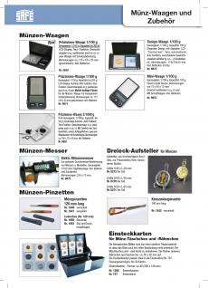 SAFE 9863 Digital Präzisions Waage Münzwaage Feinwaage LCD Anzeige 2/1000 g - 0, 01g - 20 g - Vorschau 2