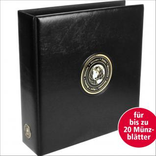 SAFE 7365 PREMIUM MAXI Universal World MÜNZALBUM extra Breit (leer) für bis zu 20 Münzblätter mit Vordrucken für alle Münzen von Aruba bis Zaire
