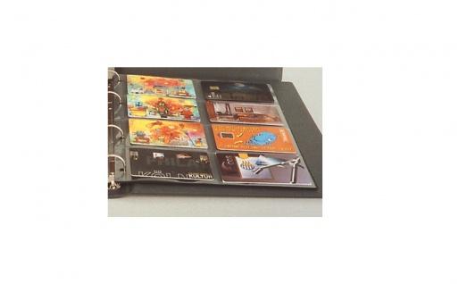 5 x SAFE 7564 Ergänzungsblätter + ZWL für Telefonkarten für die SAFE 7560 & 7561 Telefonkartenalbum