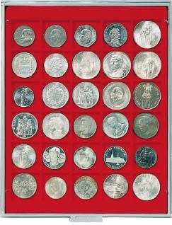 Lindner 2115 Münzbox Münzboxen Standard 30 X 38 Mm Münzen