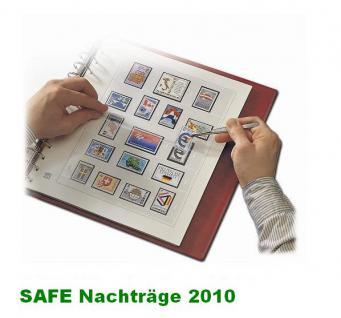 SAFE 250510SP dual Nachträge - Nachtrag / Vordrucke Liechtenstein Kleinbogen 2010