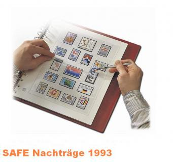 SAFE 1693 dual Nachträge - Nachtrag / Vordrucke Deutschland Jahresschmuckblätter - 1993