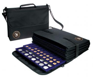 SAFE 196 Schwarze Nylon Münztasche Fächertasche COIN BAG mit 8 Fächern leer zum selbstbestücken - Vorschau 1
