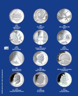1 x SAFE 7310-4 TOPset Erganzungsblatt Münzblätter + Vordruckblatt Deutsche 10 Euromünzen 2008-2010